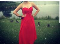 Red prom/bridal dress