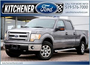 2014 Ford F-150 XLT/4WD/SIRIUS/ADJ PEDALS/CAMERA/PWR GROUP