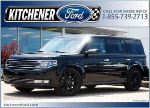 2017 Ford Flex AWD/PANO ROOF/NAVI/HTD SEATS/LESS THAN 20k KM'S!