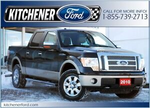 2010 Ford F-150 Lariat LEATHER/4WD/HOT&COLD SEATS/ TOW PKG &...