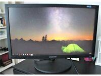"Samsung 23"" inch Full HD 1920 x 1080p (DVI-D/VGA) Monitor"