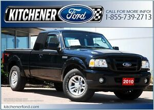 2010 Ford Ranger LOW MILEAGE!! ONLY 62K KM'S!! 4WD/TOW PKG