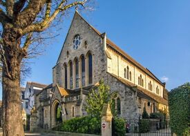 Spacious, modern 1 bedroom apartment in stunning church conversion