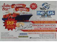Cargo To Pakistan NEXUS CARGO (LONDON) LTD