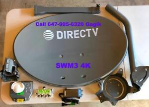 Directv Bell Shaw Direct Dish Network OTA HD Antenna IPTV CAT 5E TV Mount Installations