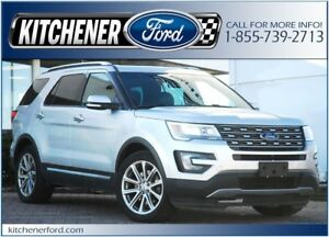 2016 Ford Explorer Limited Limited/4WD/PANO ROOF/TOW PKG/CAME...