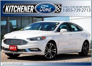 2017 Ford Fusion AWD/LEATHER/CAMERA/NAVI/ROOF/ONLY 12k Km's