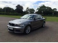 Bmw 1 series M sport coupe 120d
