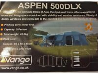 Vango Aspen 500DLX - huge 5 person family tent