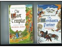 Medieval Murder Mystery-- Michel Jecks-- Sir Baldwin Furnshill and Simon Puttock ( any 4 )