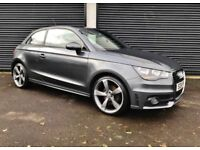 2011 AUDI A1 1.6 TDI 105 S LINE NOT MINI A3 POLO VW GOLF LEON IBIZA BMW 120D CORSA CLIO FIESTA DS3