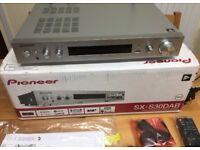 Pioneer SX-S30DAB-S slim series Stereo wifi Network streamer, phono input