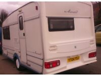 FOR SALE: OUR VERY NICE ABI DAYSTAR CARAVAN, WELL LOOKED AFTER, WTH MOVER