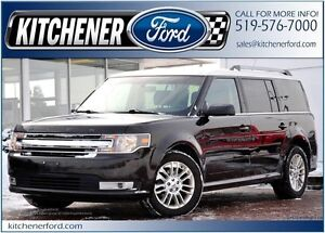 2013 Ford Flex SEL FWD/LEATHER/DVD/NAVI/HTD SEATS/SIRIUS/HTD...