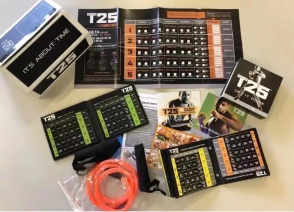 Complete Alpha/Beta/Gamma T25 workout dvd set | in Hull, East Yorkshire |  Gumtree