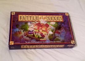 BATTLE OF THE SEXES BOARD GAME FOR TWO TEAMS. 1990 SPEAR'S GAMES. COMPLETE AND VGC.