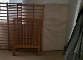for sale a cot. with mattress 15f. pickup L11