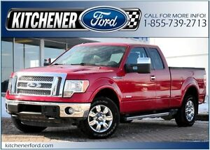 2012 Ford F-150 4X4/LEATHER/CAMERA/NAVI/TOW PKG/HTD MIRRORS/P...