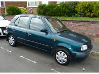 Nissan Micra Automatic, v low mileage and MOT