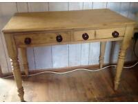 Restored Original Victorian Farmhouse scullery Table,