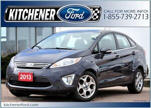 2013 Ford Fiesta TITANIUM/FWD/HTD SEATS&MIRRORS/SIRIUS/PWR LO...