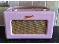 Roberts RD60 Revival DAB Radio in Dusky Pink