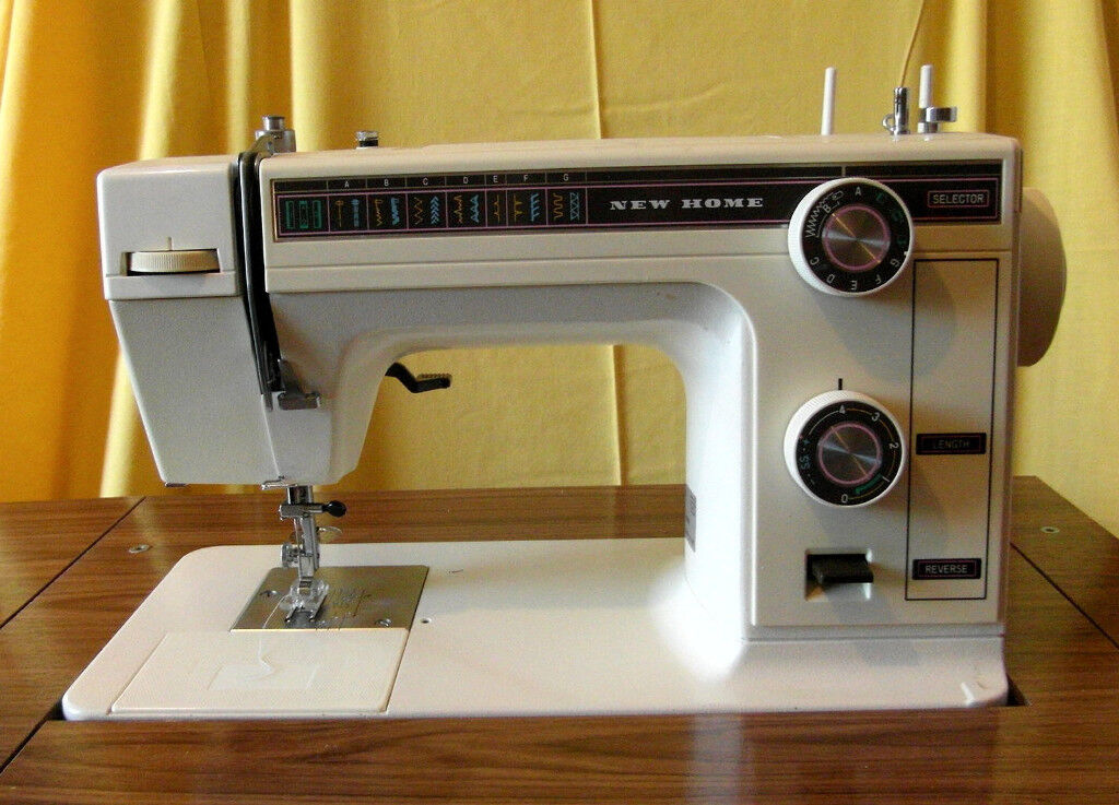 New Home Brand Model 40 Sewing Machine With Table Foot Pedal In Unique New Home Sewing Machine Foot Pedal