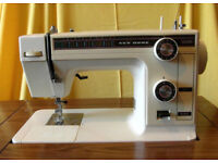 New Home brand Model 361 Sewing Machine with Table & Foot Pedal