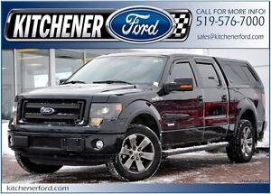 2014 Ford F-150 FX4/4X4/MATCHING CAP/LEATHER/NAVI/CAMERA/TOW...