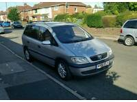 2002 VAUXHALL ZAFIRA 2.0 DTI 7 SEATER GOOD CONDTION