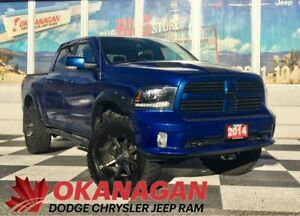 2014 Ram 1500 SPORT | Lift Kit | Navigation | Leather