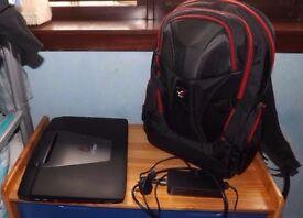 Asus 17inch Gaming Laptop with Asus Nomad Rucksack 17inch Laptop Bag