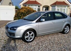 Ford Focus, 2008 57 plate, 1 year MOT, service history, 83k, air con, cruise control