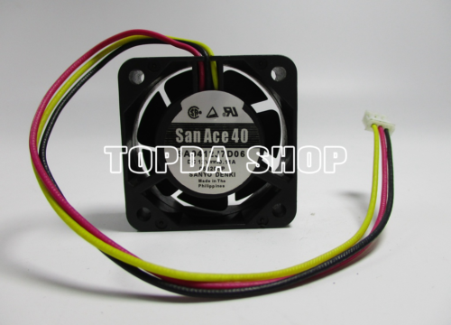 1PCS SANYO San Ace 40 109P0412J3123 Fan 12V 0.35A 40*40*28mm 3pin #M357 QL