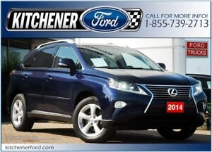 2014 Lexus RX 350 *AWD/LEATHER/ROOF/CAMERA/NAVI/ONLY 40k KM'S