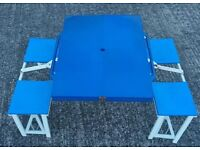 Fold up picnic/children's table