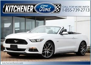 2016 Ford Mustang GT Premium CONVERT/LEATHER/CAMERA/NAVI/HTD...