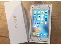iPhone 6 white 16GB Gold UNLOCKED