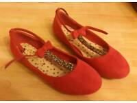Girls shoes from Next size 2