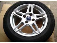 Ford Fiesta 4 stud 15 inch alloy wheels