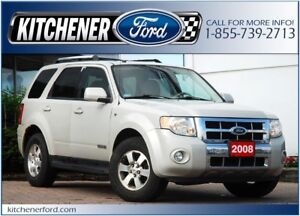 2008 Ford Escape Limited 4WD/LEATHER/TOW PKG/ROOF/PWR GROUP