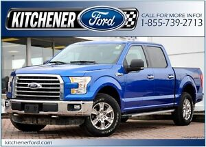 2016 Ford F-150 4WD/TOW PKG/CAMERA/SIRIUS/PWR GROUP