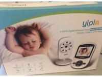 Brand new Wireless Video Baby Monitor, Digital Camera Colour Display, Night Vision Temperature