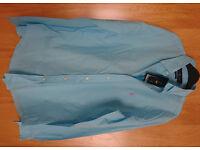 Brand New Ralph Lauren Turquoise Light Green Long Sleeved Shirt Size M
