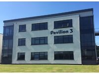 All-inclusive office suite in modern pavilion - minutes from the M8 and Glasgow Airport