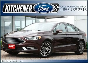 2017 Ford Fusion Titanium AWD/NAVI/ROOF/CAM/LEATHER/HTD MIRRORS