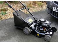 Petrol lawnmower, Briggs and Stratton 148cc 450 engine