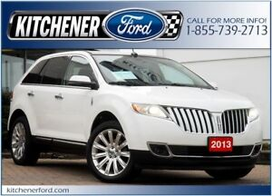2013 Lincoln MKX *AWD/LTHR/CAMERA/NAVI/PANO ROOF/HTD&CLD SEATS