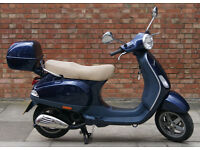 Vespa LX 50, very good condition with low mileage