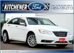 2014 Chrysler 200 Limited LOW MILEAGE! LEATHER/ROOF/HTD SEATS...